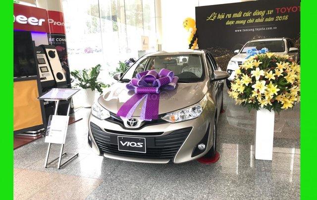 Toyota Tân Cảng Vios 1.5 tự động - Trả trước 150tr nhận xe - Xe giao ngay đủ màu - 09330006000