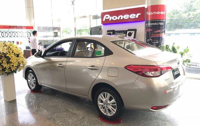 Toyota Tân Cảng Vios 1.5 tự động - Trả trước 150tr nhận xe - Xe giao ngay đủ màu - 09330006002