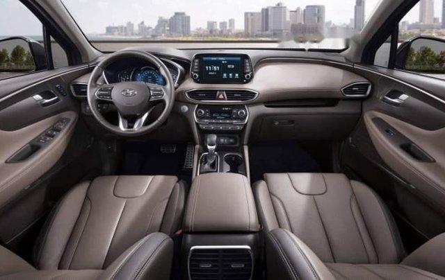 Bán xe Hyundai Santa Fe 2019, màu nâu, nhập khẩu nguyên chiếc, 995 triệu1
