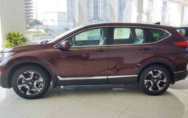Bán Honda CR V đời 2019, màu đỏ, nhập khẩu2