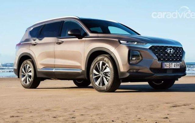 Bán xe Hyundai Santa Fe 2019, màu nâu, nhập khẩu nguyên chiếc, 995 triệu0