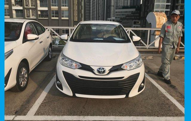 Toyota Tân Cảng Vios 1.5 tự động, trả trước 150tr nhận xe - giao ngay đủ màu, LH 09330006000