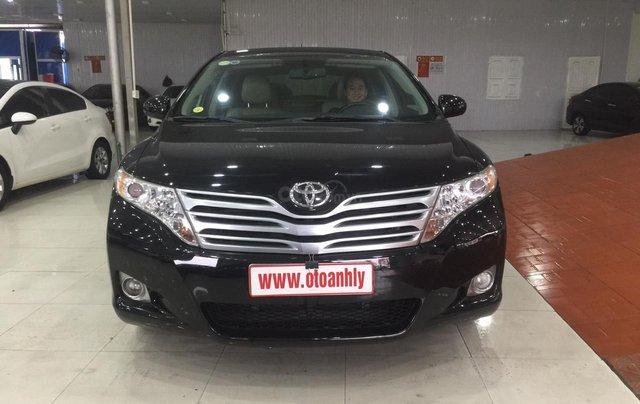 Bán xe Toyota Venza sản xuất năm 2009, màu đen, nhập khẩu0