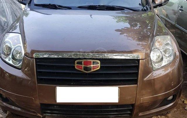 Bán Geely Emgrand X 2013, màu xám (ghi), nhập khẩu nguyên chiếc3
