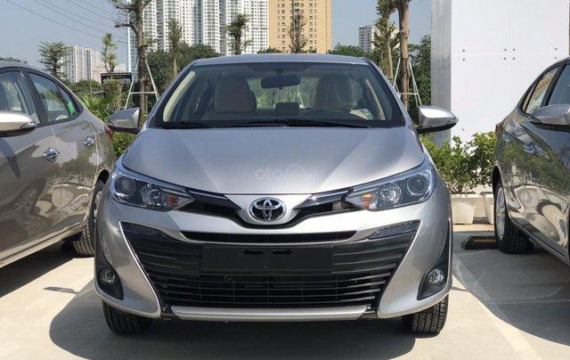 Bán Toyota Vios G 2020 KM cực lớn, mua nhanh để hưởng 50% thu thuế trước bạ, ưu đãi kép0