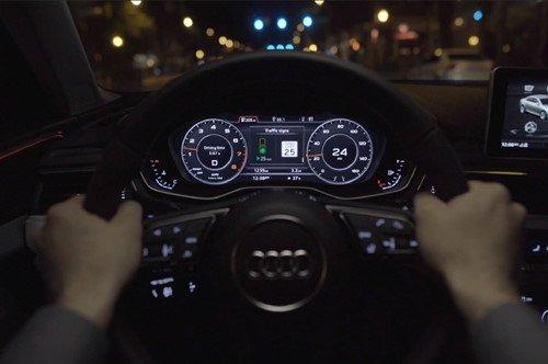"""Dừng chờ đèn đỏ sẽ là """"dĩ vãng"""" nhờ công nghệ của Audi"""