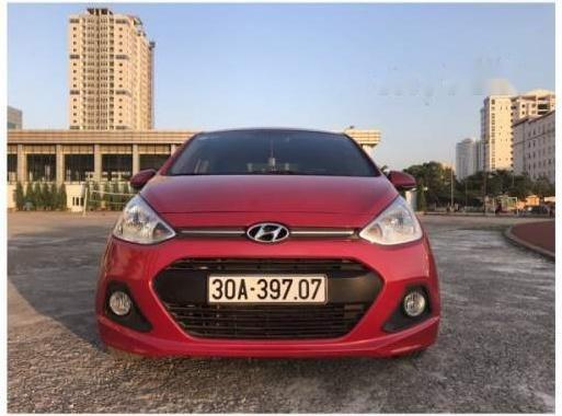 Cần bán lại xe Hyundai Grand i10 năm sản xuất 2014, màu đỏ, nhập khẩu