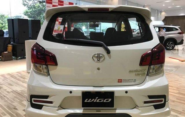 Bán Toyota Wigo sản xuất 2019, màu trắng, xe nhập2