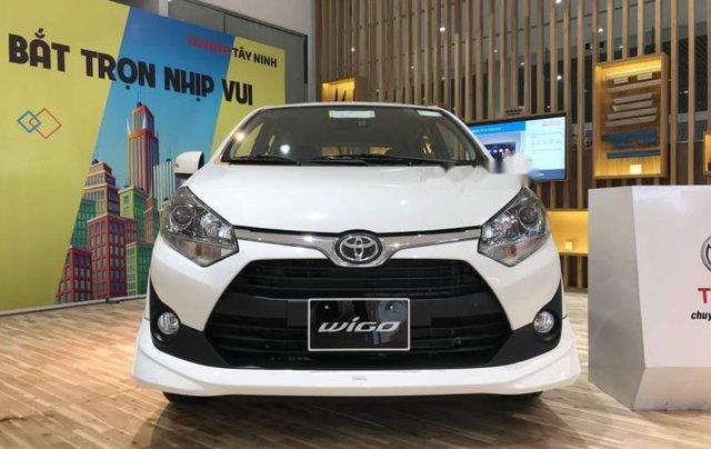 Bán Toyota Wigo sản xuất 2019, màu trắng, xe nhập1