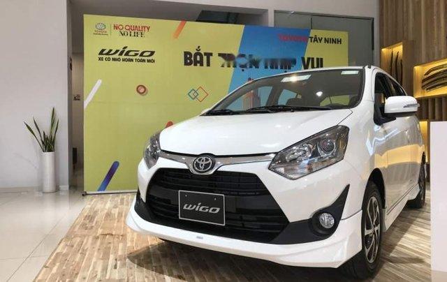 Bán Toyota Wigo sản xuất 2019, màu trắng, xe nhập0