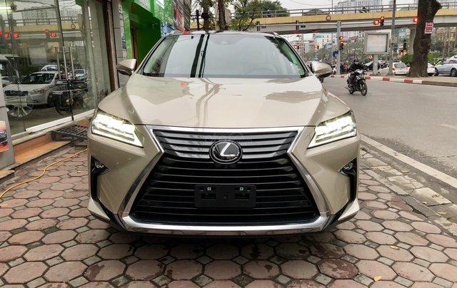 MT Auto 88 Tố Hữu bán ô tô Lexus RX 350 model 2019, màu vàng, nhập khẩu Mỹ nguyên chiếc - LH em Hương 09453924680