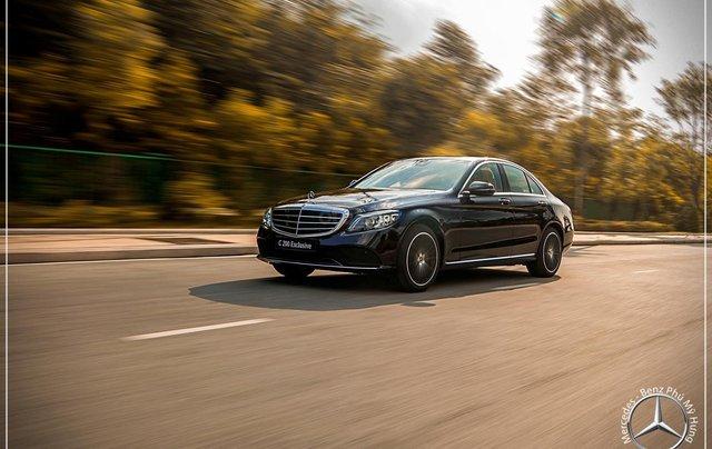 Mercedes-Benz C200 Exclusive - Hỗ trợ 100% phí trước bạ - Ưu đãi khủng trong tháng. LH: 0919 528 52012