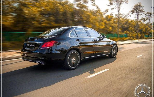 Mercedes-Benz C200 Exclusive New 2020, động cơ mới 2.0 - giá bán tốt nhất, giao xe sớm, trả góp 80%11