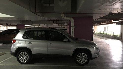 Bán xe Volkswagen Tiguan năm 2010, nhập khẩu, giá 577tr2