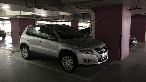 Bán xe Volkswagen Tiguan năm 2010, nhập khẩu, giá 577tr7