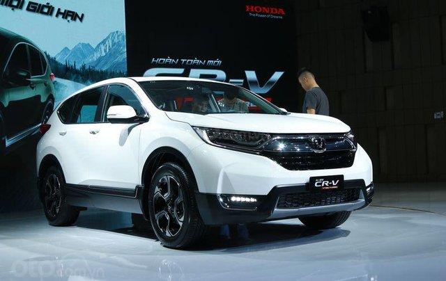 Honda CR-V 1.5 Turbo L 2019, Honda Ô tô Đắk Lắk- Hỗ trợ trả góp 80%, giá ưu đãi cực tốt–Mr. Trung: 0935.751.5161