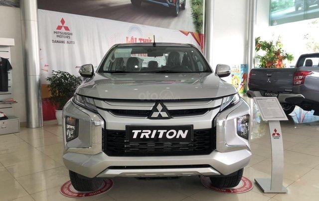 [Siêu hot] Mitsubishi Triton 2019, màu bạc, nhập khẩu Thái, đẳng cấp phân khúc, cho vay 80%. LH: 0905.91.01.991
