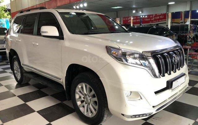 Bán Toyota Prado 2.7 sản xuất 2016, màu trắng0