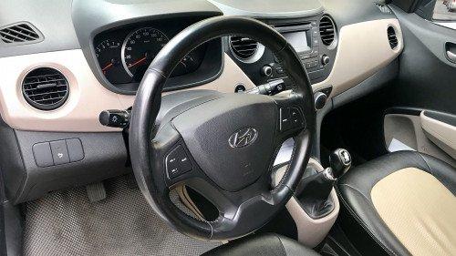 Bán Hyundai Grand i10 1.0 MT 2014, màu bạc, giá tốt5
