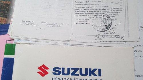 Bán Suzuki Wagon R+ 1.0 MT đời 2003, màu bạc, xe gia đình5
