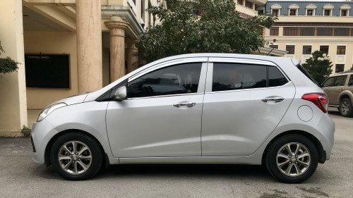 Bán Hyundai Grand i10 1.0 MT 2014, màu bạc, giá tốt2