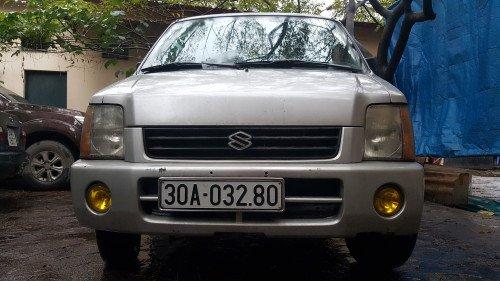 Bán Suzuki Wagon R+ 1.0 MT đời 2003, màu bạc, xe gia đình11