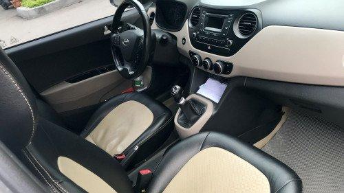 Bán Hyundai Grand i10 1.0 MT 2014, màu bạc, giá tốt3