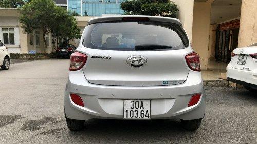 Bán Hyundai Grand i10 1.0 MT 2014, màu bạc, giá tốt1