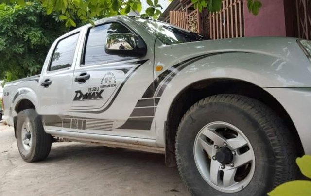 Bán Isuzu Dmax đời 2008, màu bạc, nhập khẩu 4