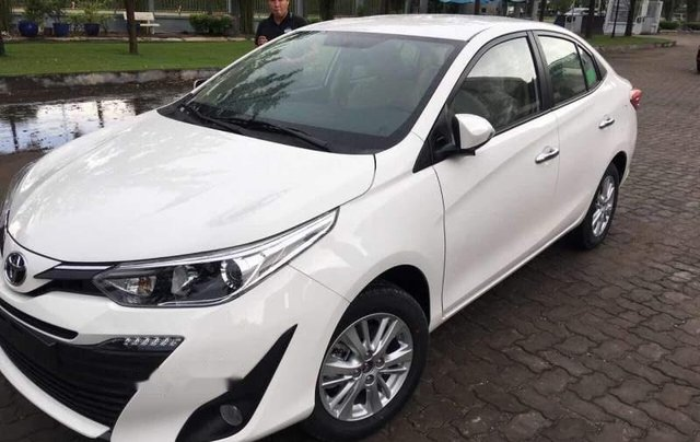 Bán Toyota Vios G đời 2019, màu trắng, giá tốt0