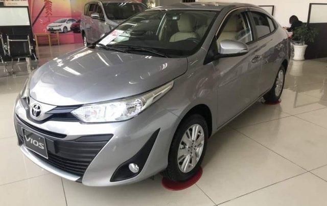Bán Toyota Vios E đời 2019, màu xám, giá chỉ 509 triệu3