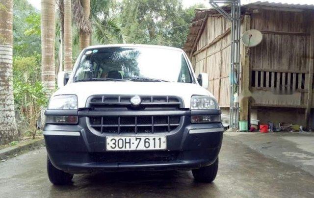 Bán xe Fiat Doblo năm 2007, màu trắng chính chủ5