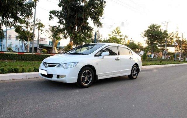Bán Honda Civic sản xuất 2006, màu trắng, còn mới  3