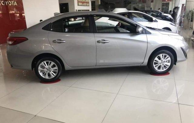 Bán Toyota Vios E đời 2019, màu xám, giá chỉ 509 triệu4