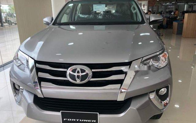 Bán Toyota Fortuner 2.4G 2019, màu bạc, nhập khẩu  0