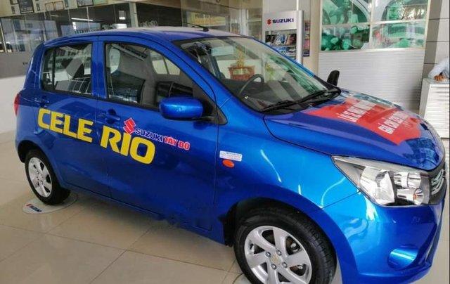 Bán Suzuki Celerio năm sản xuất 2018, màu xanh lam, nhập khẩu giá cạnh tranh0