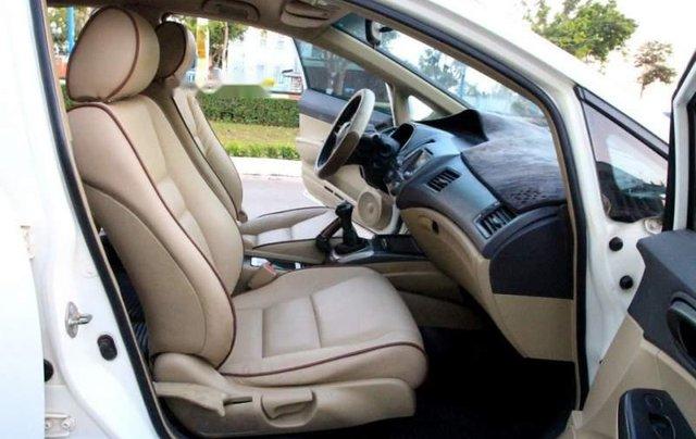 Bán Honda Civic sản xuất 2006, màu trắng, còn mới  4