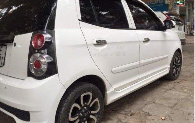 Bán xe Kia Morning SLX AT 1.0 2010, màu trắng, nhập khẩu nguyên chiếc số tự động, giá chỉ 275 triệu3