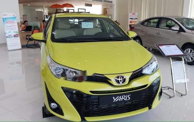 Bán Toyota Yaris 2019, màu vàng, nhập khẩu0