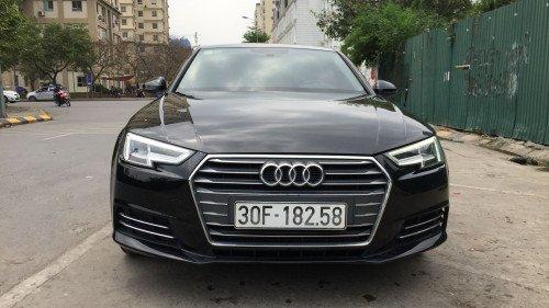 Bán Audi A4 2.0 AT đời 2016, màu đen, xe nhập0