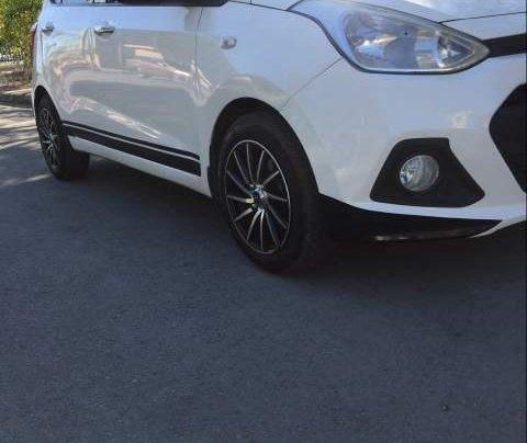 Bán ô tô Hyundai Grand i10 đời 2014, màu trắng, xe nhập, giá tốt2