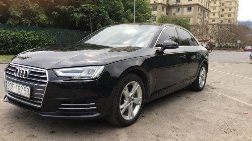 Bán Audi A4 2.0 AT đời 2016, màu đen, xe nhập2