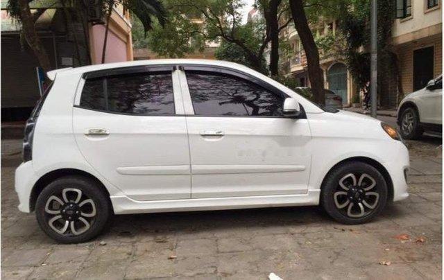Bán xe Kia Morning SLX AT 1.0 2010, màu trắng, nhập khẩu nguyên chiếc số tự động, giá chỉ 275 triệu0