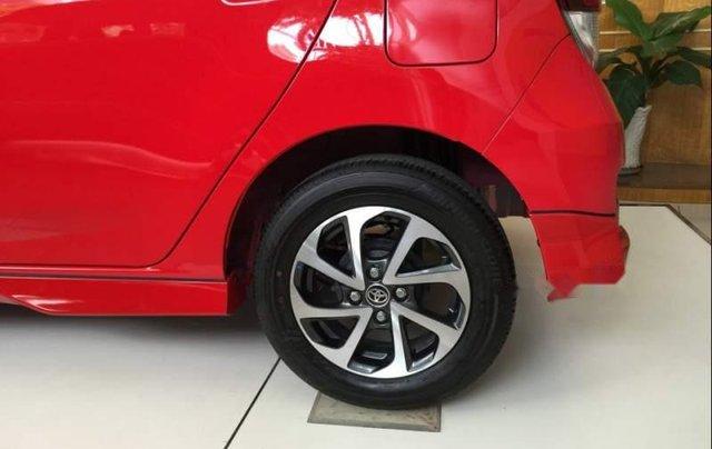 Bán ô tô Toyota Wigo sản xuất 2019, màu đỏ, nhập khẩu nguyên chiếc, giá 345tr2