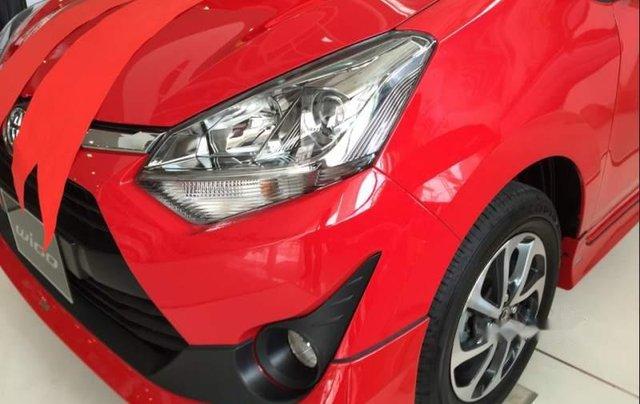 Bán ô tô Toyota Wigo sản xuất 2019, màu đỏ, nhập khẩu nguyên chiếc, giá 345tr1