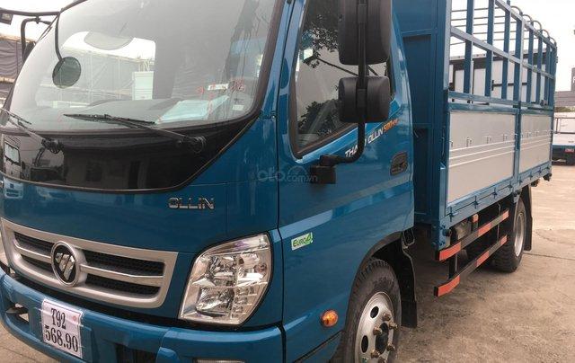 Liên hệ 0969644128. Bán Thaco Ollin 500B. E4 sản xuất năm 2019, màu xanh dương0