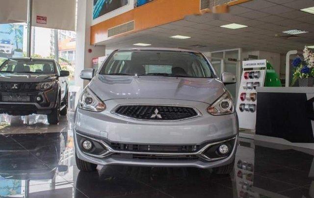 Bán ô tô Mitsubishi Mirage đời 2019, màu bạc, nhập khẩu nguyên chiếc0