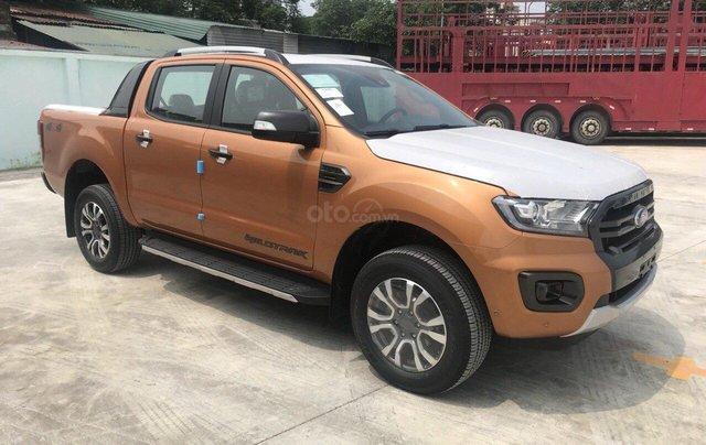 Hot Ford Ranger Wildtrak 2.0 Bitubo 2019 - KM full phụ kiện, đủ màu, giao ngay chỉ với từ 200 triệu đồng - LH 09676646481