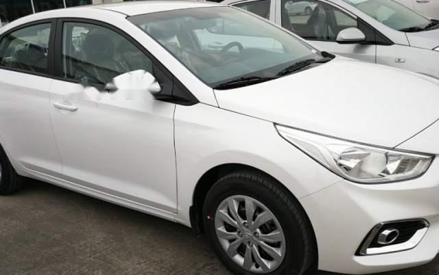 Bán Hyundai Accent đời 2018, màu trắng0