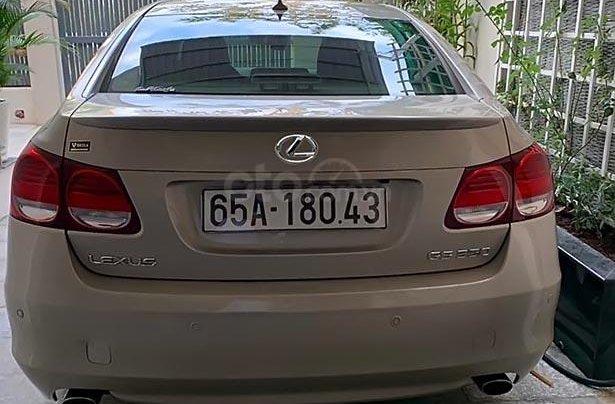 Bán Lexus GS 350 đời 2010, màu vàng, nhập khẩu3